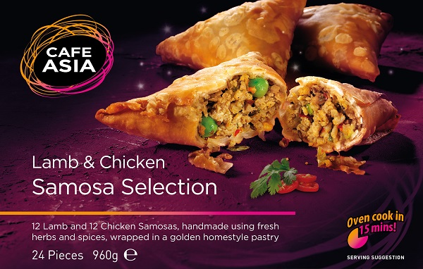 Samosa Selection (Lamb & Chicken)