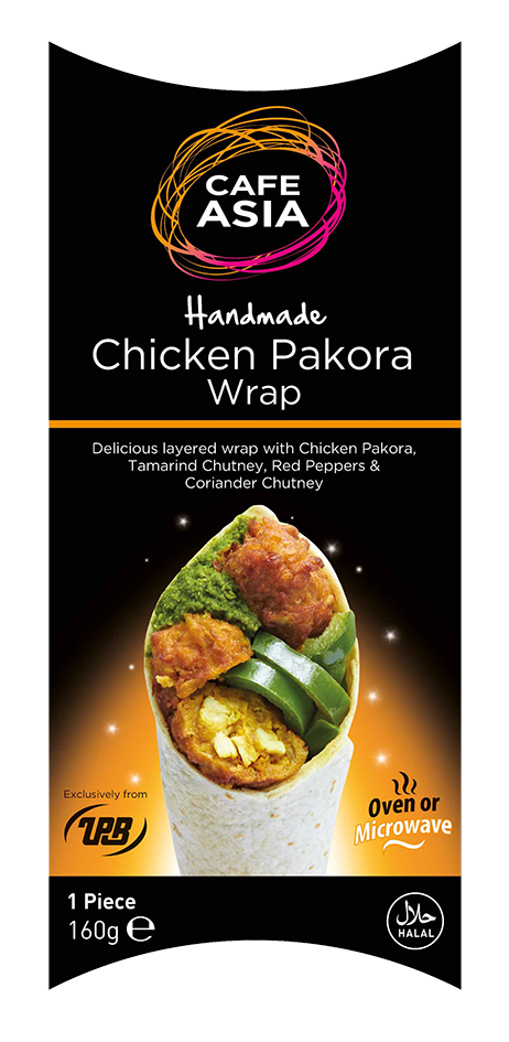 Chicken Pakora wrap