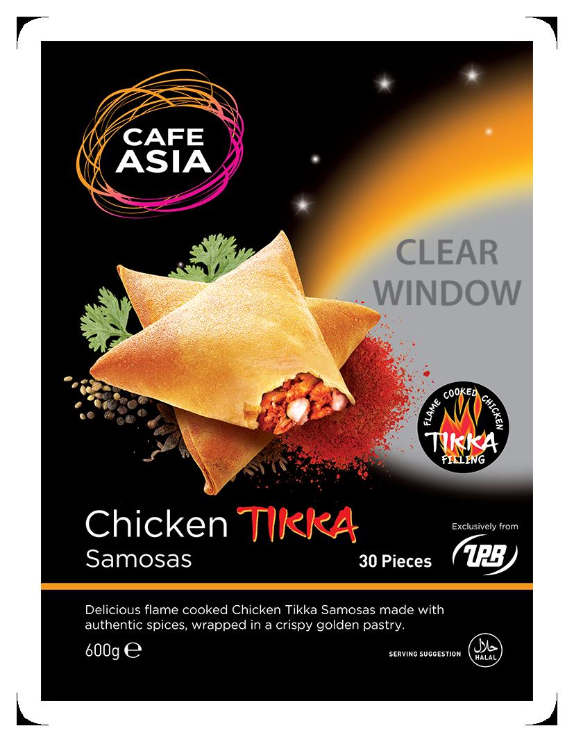 Chicken Tikka Samosas