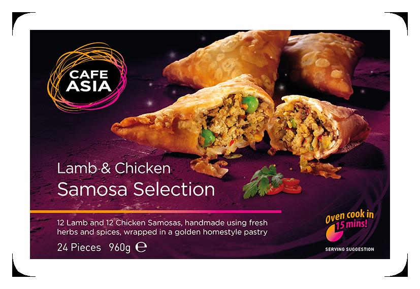Samosa Selection (Lamb & Chicken)
