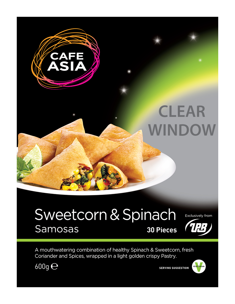 Sweencorn & Spinach Samosa